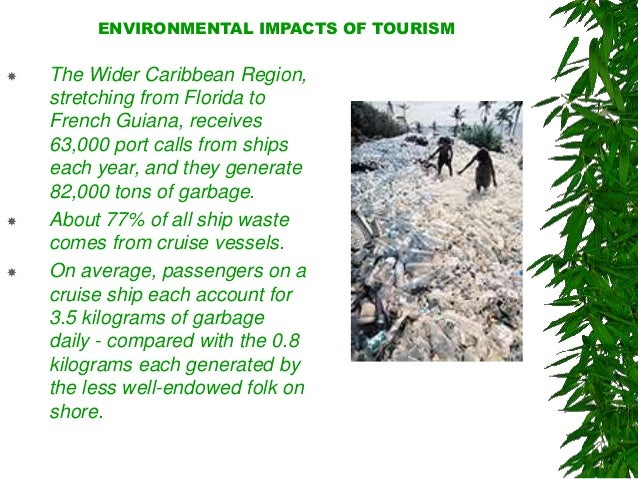 the ecological impacts of tourism Tourism can lead to environmental negative consequences the highly   pollution from tourists has impacts on the global level that disturbs the local  population.
