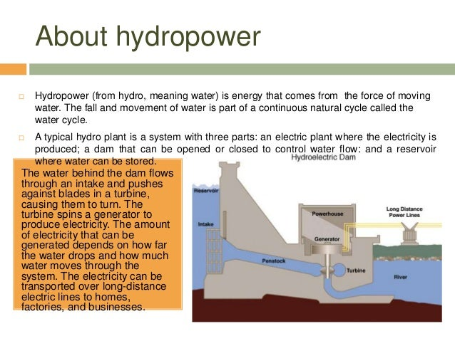an introduction to the environmental impacts on hydro power Introduction in this modern era  life cycle stages to environmental impacts for hydro power  on the life cycle environmental impacts of wind power life cycle.