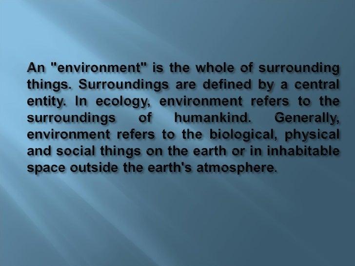 Environmental Issues Slide 2