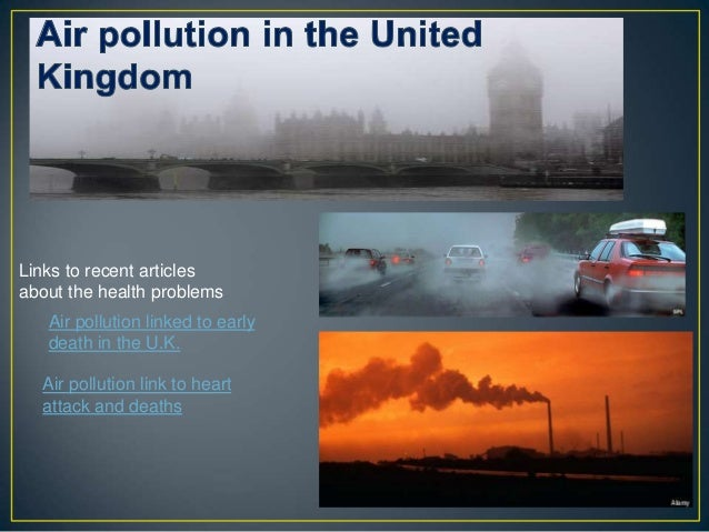 Air Pollution ~ Environmental Issues
