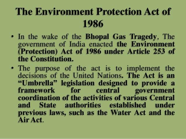 Environment Protection Act 1986 Pdf