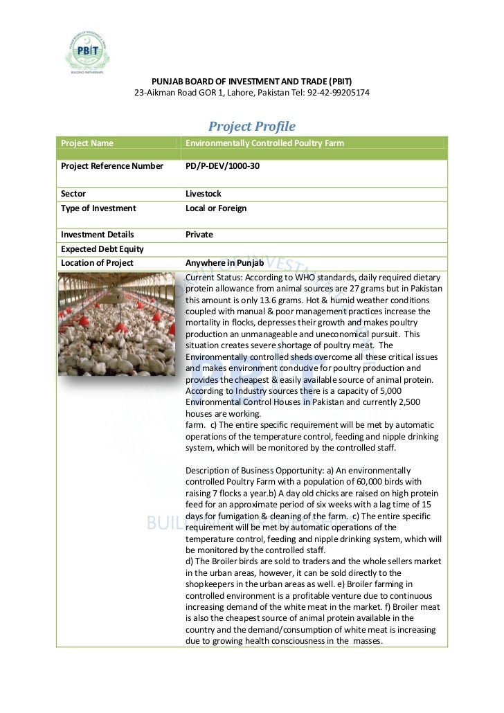 Environmentally Controlled Poultry Farming