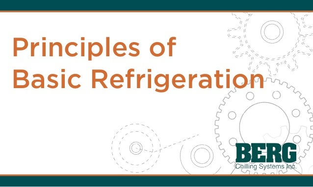 Principles of Basic Refrigeration