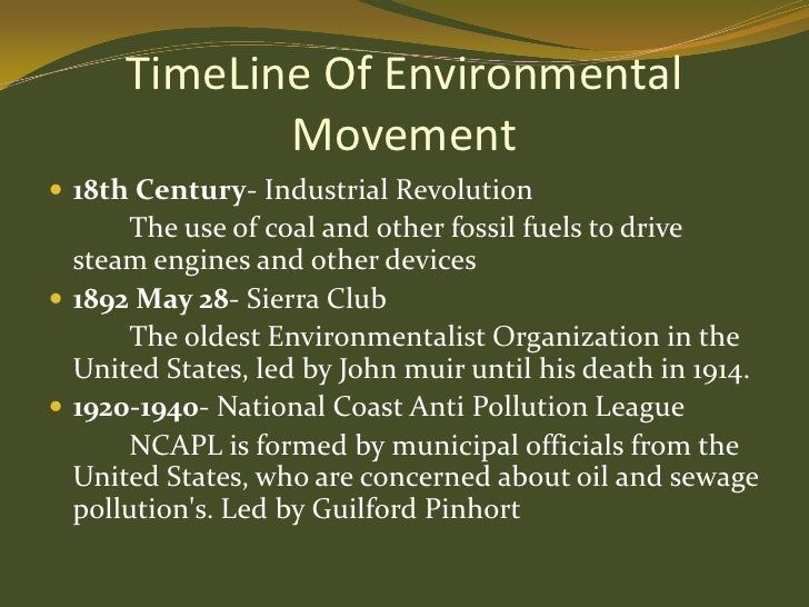 environmental movement Modern environmental movement environmental movement can simply be defined as a social and political movement mainly concerning with the conservation of environment as well as improving the state of environment.