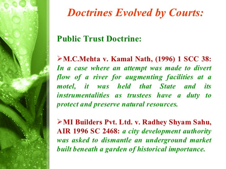 development of environmental justice in india This project would e focusing into the development of concept of environmental justice in india this project research study is based on achieving the following objectives: 1 to trace the growth of environmental justice awareness in different phases 2 to explain the legislative and policy.