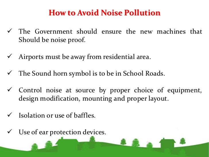 how to measure noise pollution Noise pollution is measured in decibels if you're asking for literally how it's measured, there are sound meters that basically use a microphone to.
