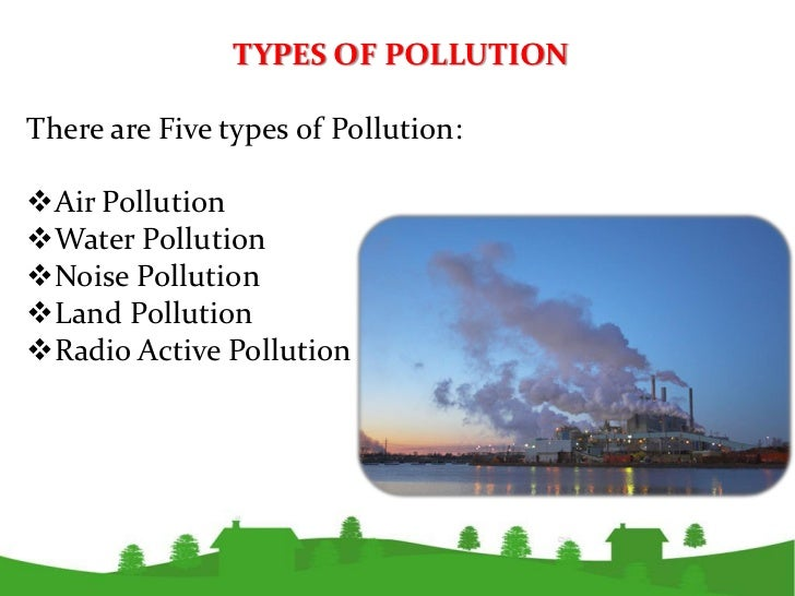 environmental pollution