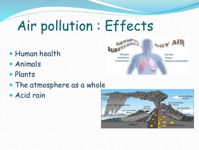 Environmental pollution Air Pollution Effects On Animals Pics