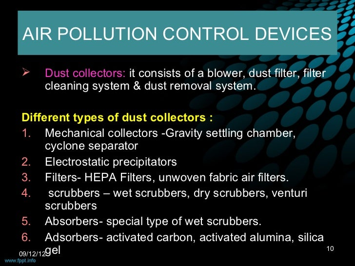Environmental Pollution Control