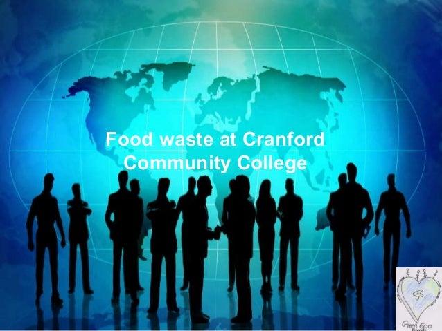 Food waste at Cranford Community College