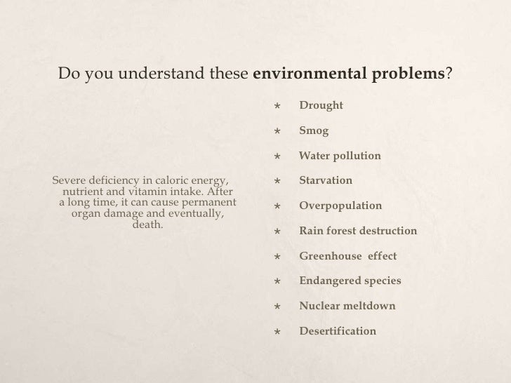 environmental problems term paper While in a college, students write a lot of research papers, so it is important to improve their writing skills as well as to be able to find acute topics for their research the course of the environmental science offers a huge variety of topics for paper writing however, when it comes to writing on environmental issues, many face.