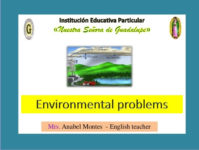 Mrs. Anabel Montes - English teacher