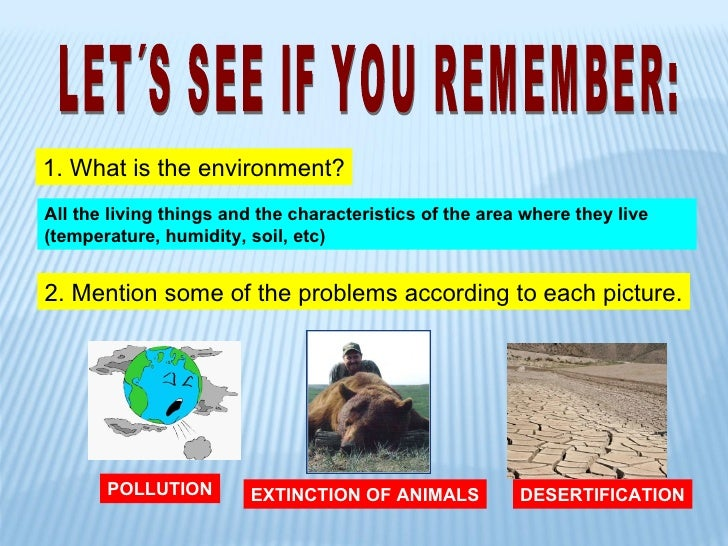 environmental problems and solutions 11