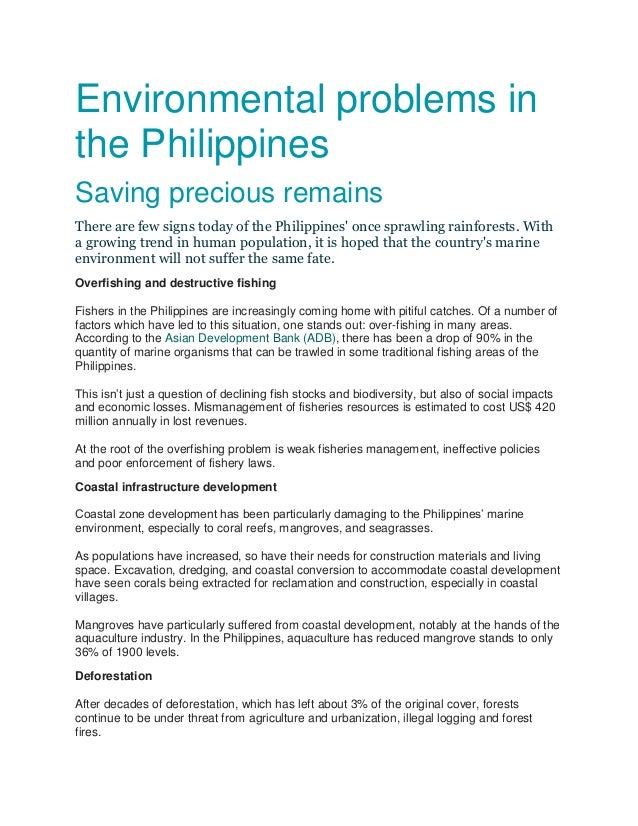 Agrarian Problems in the Philippines Essay Sample