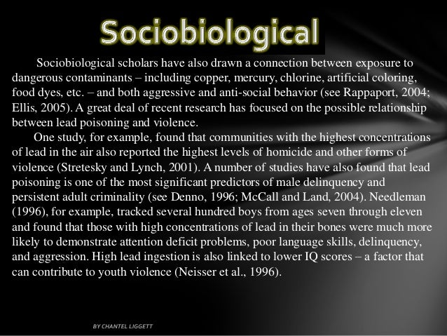 socialization process and the factors that can lead to criminal behavior The new research, published in the scholarly journal aggressive behavior, is just one example of how portnoy is studying biological and social factors that can help explain and predict impulsive.