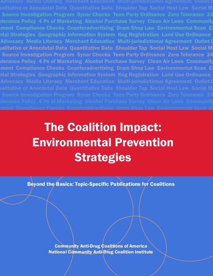 The Coalition Impact:                       acy Merchant Education Multi-jurisdictional Agreement Outlet Dualitative or An...
