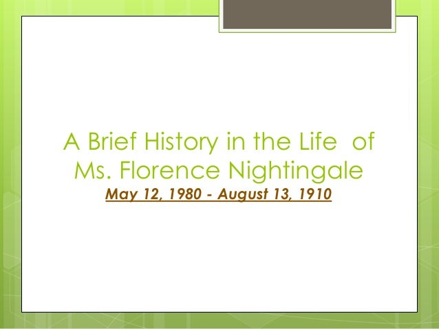 Florence Nightingale: Saving lives with statistics