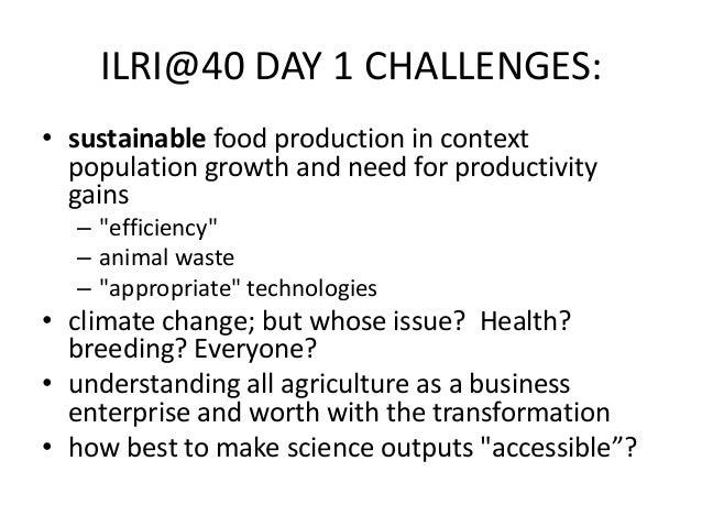 Livestock and environment at ILRI: Past, present and future Slide 2