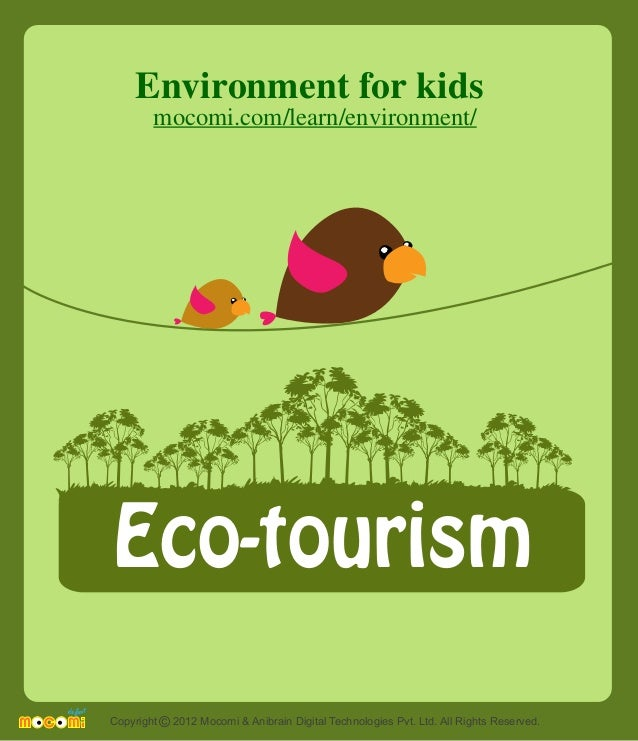 Children Experience Benefits from Ecotourism