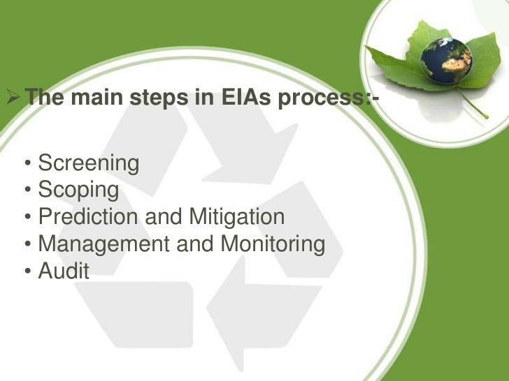 environmental impact assessment steps