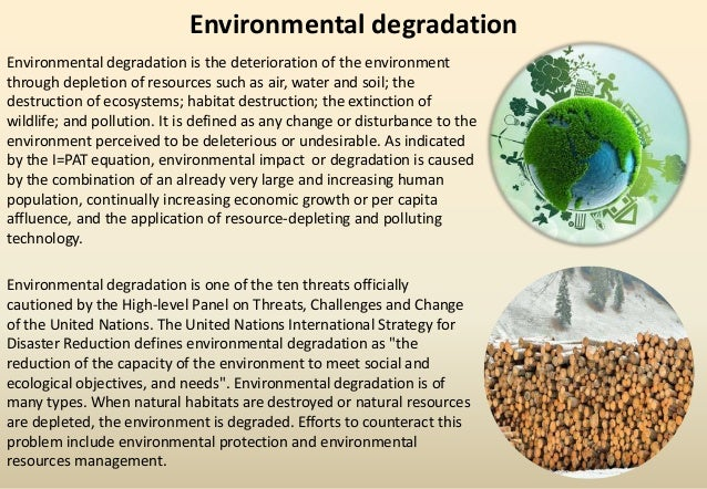 resource amp environmental management