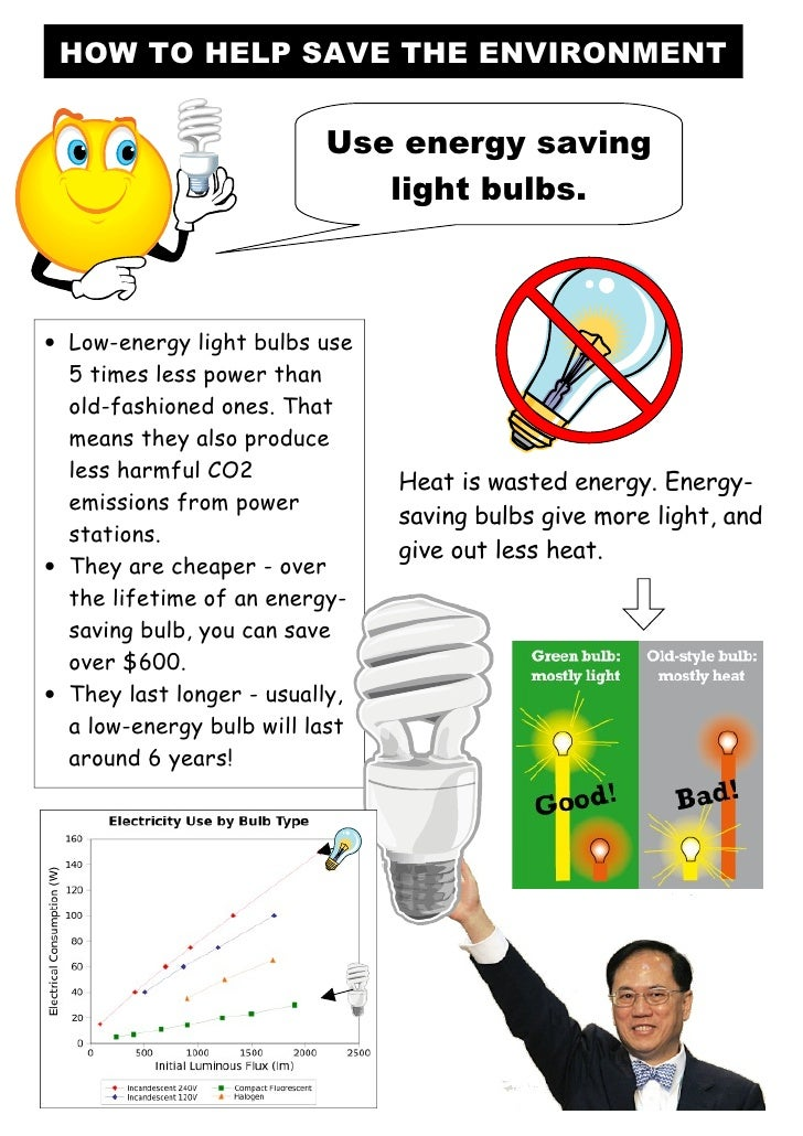 save fuel save environment It may be clear how saving energy can help your monthly energy bills,   electricity, most power plants burn coal, crude oil or other fossil fuels.
