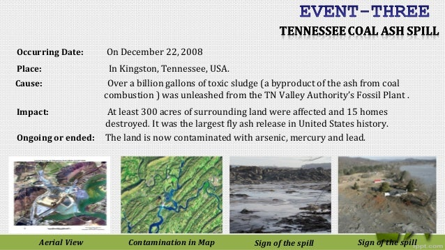 The tennessee valley authority ash spill essay