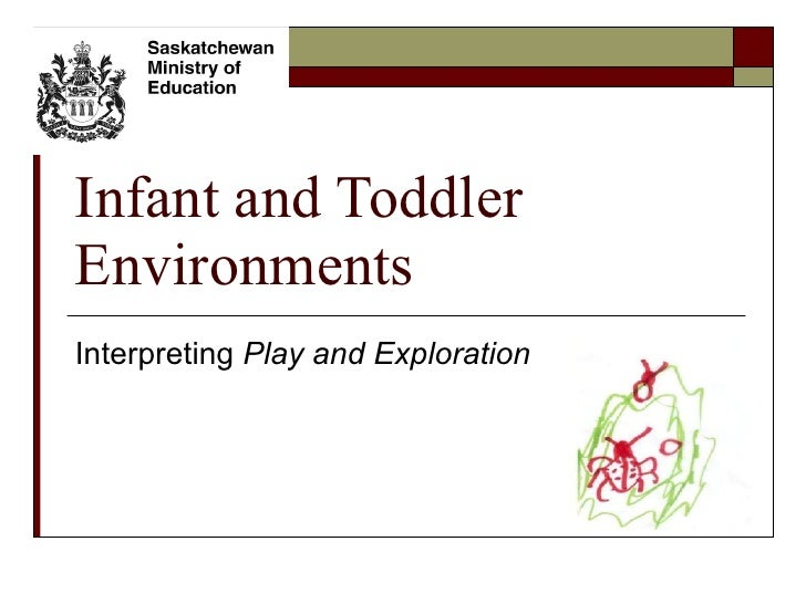 Infant and Toddler Environments Interpreting  Play and Exploration