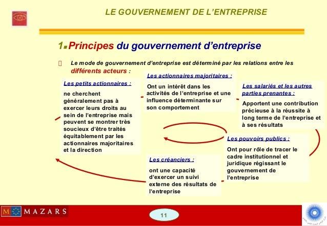 le gouvernement chemical entreprise dissertation