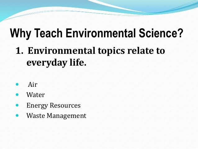 Envi science