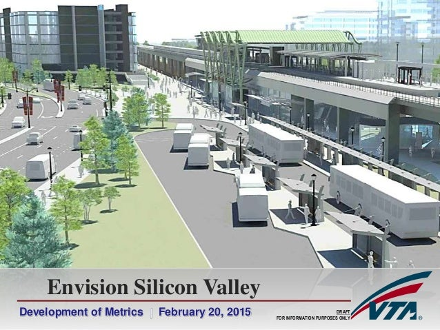Development of Metrics | February 20, 2015 Envision Silicon Valley DRAFT FOR INFORMATION PURPOSES ONLY