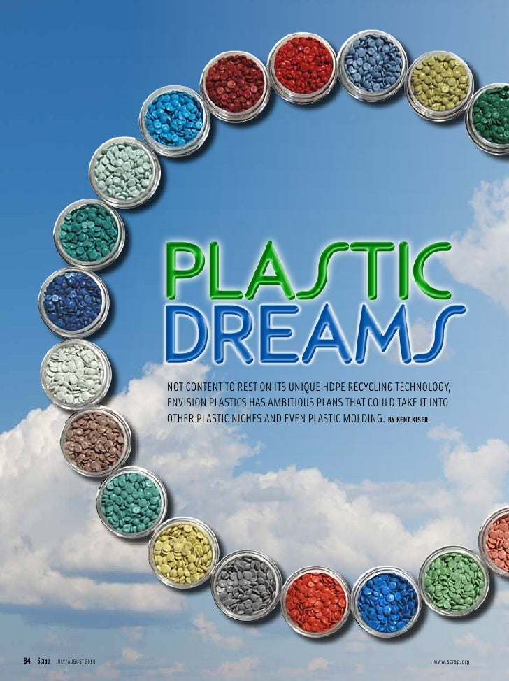 Envision plastics article in scrap inc.