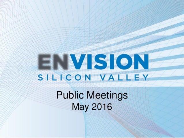 Public Meetings May 2016