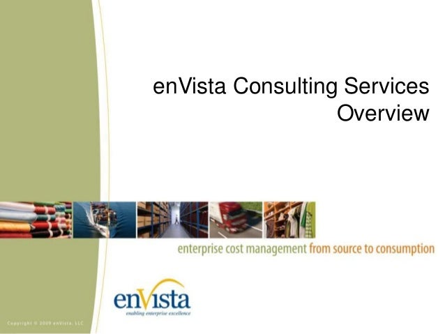 enVista Consulting Services Overview