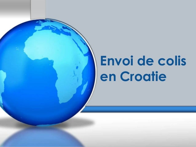 Envoi de colis en Croatie