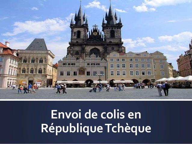 Envoi de colis en RépubliqueTchèque