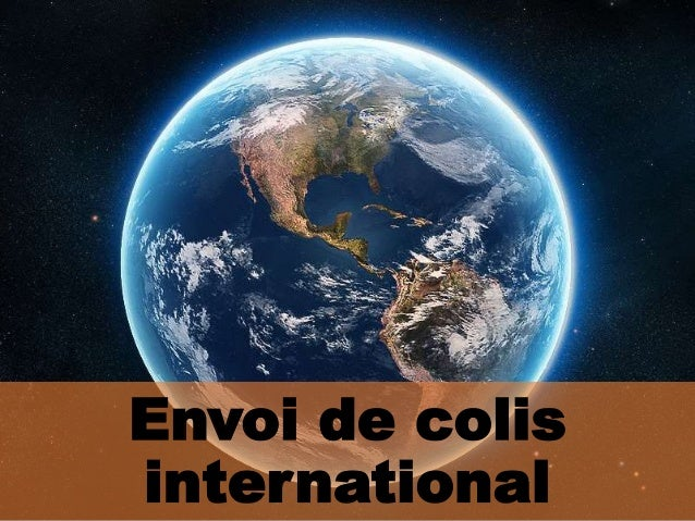 Envoi de colis international