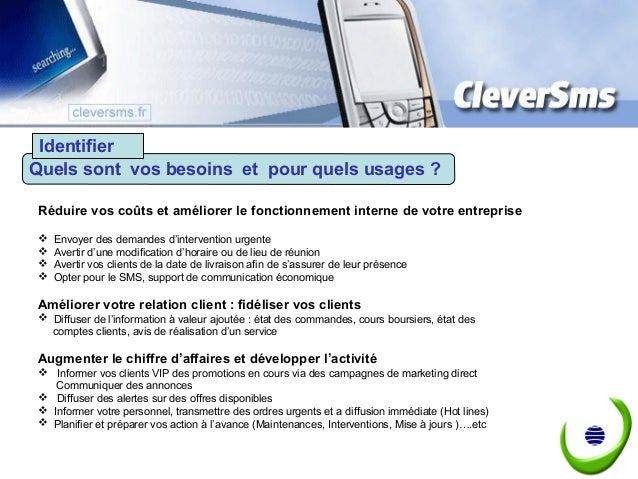 Envoyer des sms par internet - API - Web service - Plate forme SaaS Slide 2