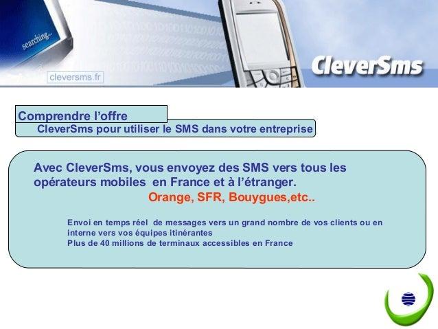 Envoyer des sms par internet - API - Web service - Plate forme SaaS Slide 3