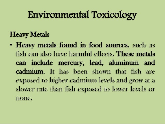the effects of environmental toxicology on Toxicology is a scientific area of study concerned with the effects of chemicals and toxins on the environment and living organisms toxicology experts may have a certain area of focus, such as the health issues related to toxic exposure in the workplace, chemical effects on humans, the use of chemicals in pharmaceuticals, chemicals in drugs and alcohol, and other related studies.