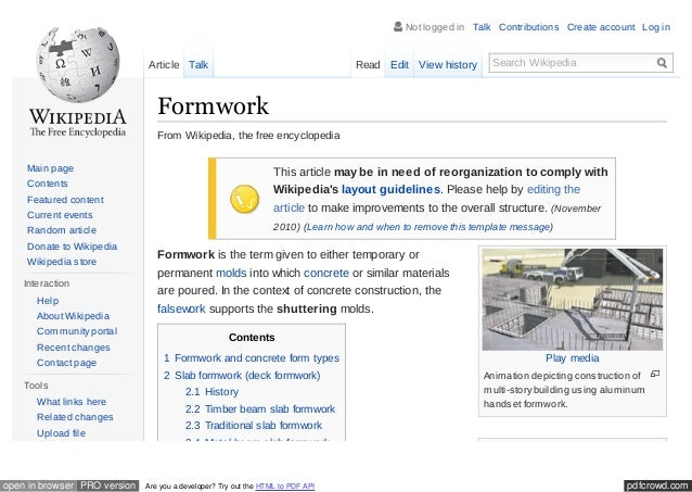 En wikipedia org_wiki_formwork (1) olded for transport  A