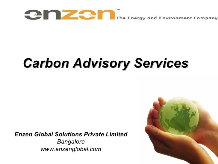 Carbon Advisory Services Enzen Global Solutions Private Limited Bangalore www.enzenglobal.com