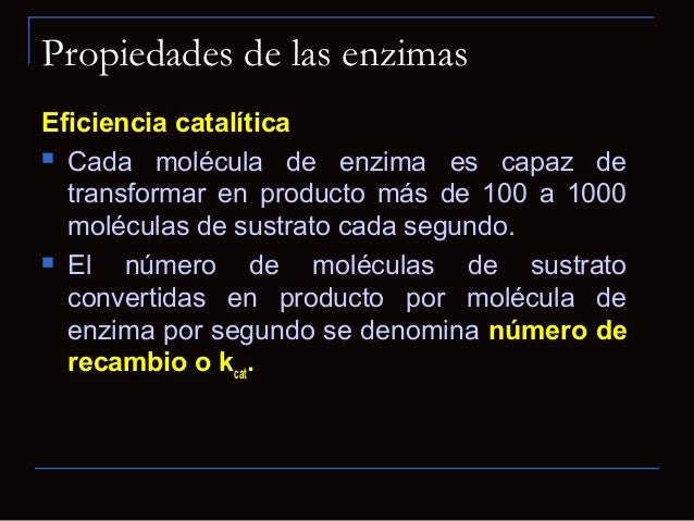Propiedades de las enzimasLocalización dentro de la célula Muchas se localizan en orgánulosespecíficos dentro de las célu...