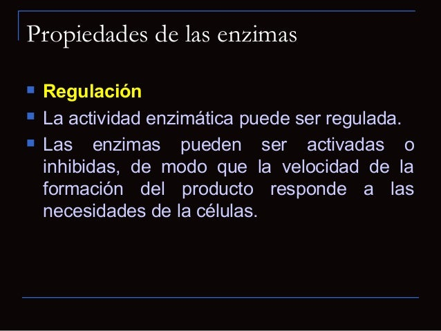 Función de las enzimas Las enzimas (E) tienen un papel fundamental:acelerar las reacciones biológicas actuandosobre sustr...