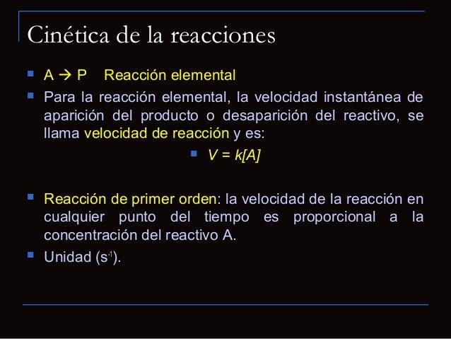Cinética de Michaelis -Menten0 [S]VVmáxKmVmáx2 Velocidad de reacción (v)y concentración desustrato [S] para unareacción ca...
