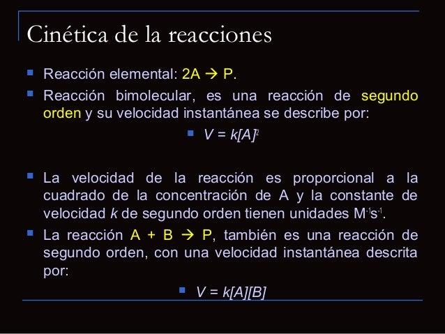 Cinética de Michaelis-Menten Conclusiones importantes. Km baja: afinidad elevada de la enzima por el sustrato. Km grand...