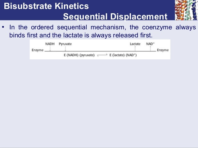 enzyme kinetics lactate dehydrogenase You have free access to this content biochemistry and molecular biology education volume 35, issue 4, version of record online: 3 jul 2007.