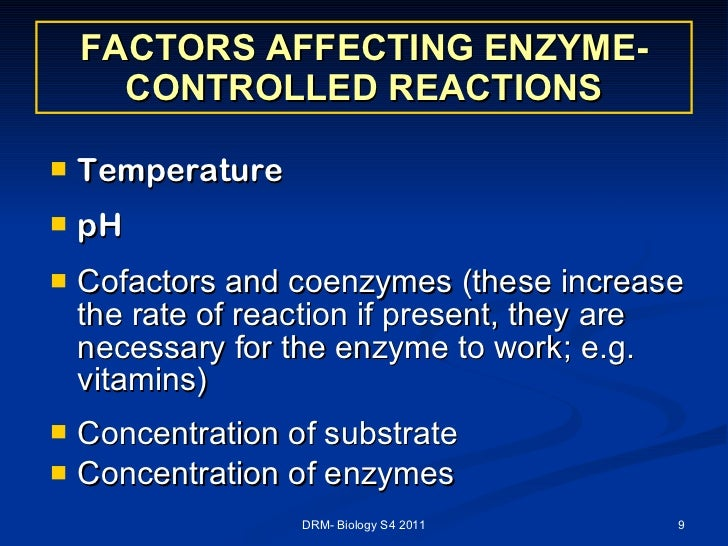 how do subtrate concentration and ph affect enzyme controlled reactions Ph, and enzyme concentration on reaction rates of an enzyme catalyzed reaction in a controlled experiment  how does ph affect the activity of enzymes.