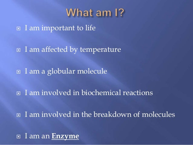 Enzymes and Nucleic acids recap-AS Biology [JM]