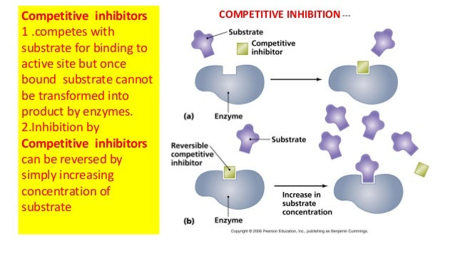 Enzymology enzyme inhibition &therapeutic uses
